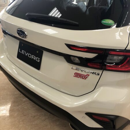新型レヴォーグ展示車・試乗車ございます❕