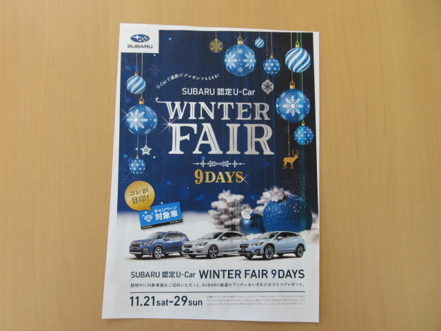 WINTER FAIR 9DAYS